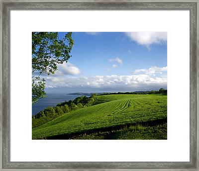 Stokeinteignhead Framed Print by Jan W Faul
