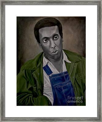 Stokely Carmichael Aka Kwame Toure Framed Print