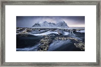 Stokkness Morning Framed Print