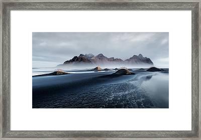 Stokksnes Framed Print