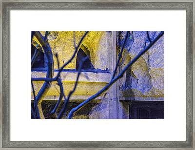 Stone Abstract One Framed Print