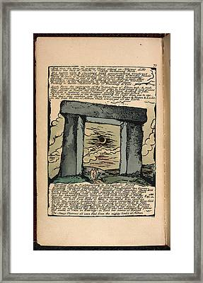 Stone Age Structure Framed Print by British Library