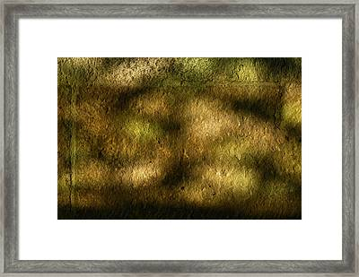 Stone And Light 02 Framed Print