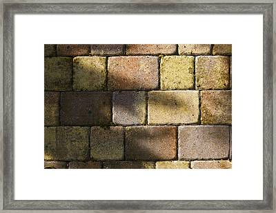 Stone And Light 04 Framed Print