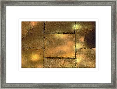Stone And Light 08 Framed Print