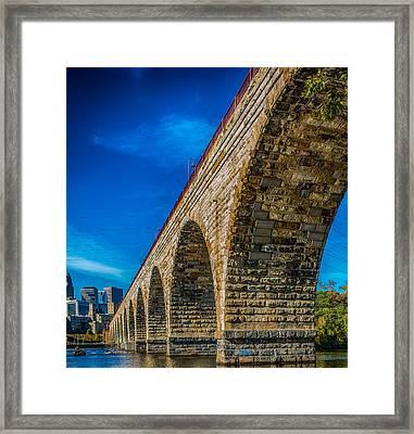 Stone Arch Bridge By Paul Freidlund Framed Print