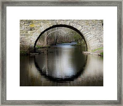 Stone Arch Bridge Framed Print