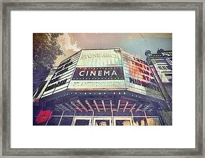 Stone Arch Cinema Framed Print by Susan Stone