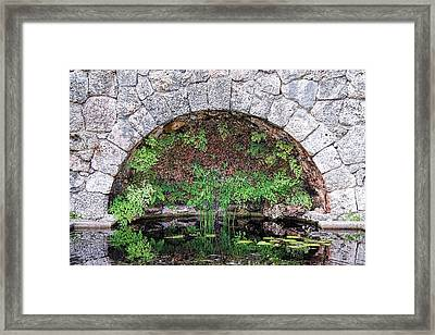 Stone Arch Framed Print by Rudy Umans