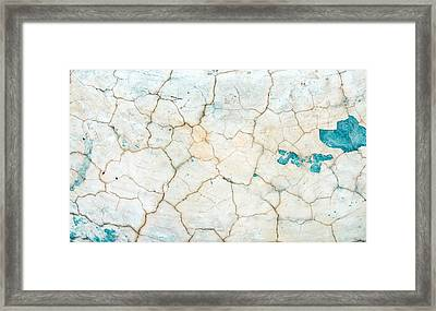Stone Backgorund Framed Print by Tom Gowanlock