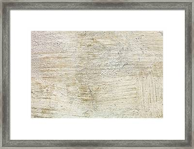 Stone Background Framed Print