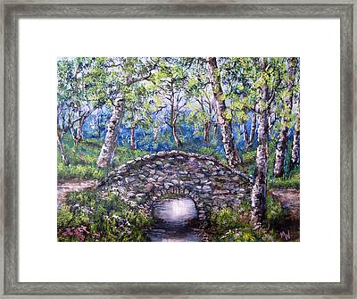 Stone Bridge 2 Framed Print
