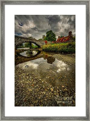 Stone Bridge Framed Print by Adrian Evans