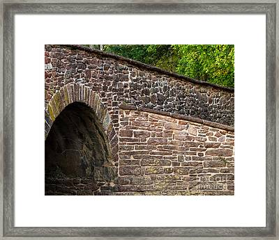 Stone Bridge Framed Print by Dale Nelson