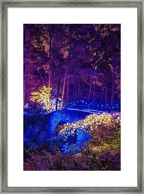 Stone Bridge - Full Height Framed Print