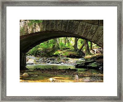 Stone Bridge II Framed Print by Elizabeth Dow