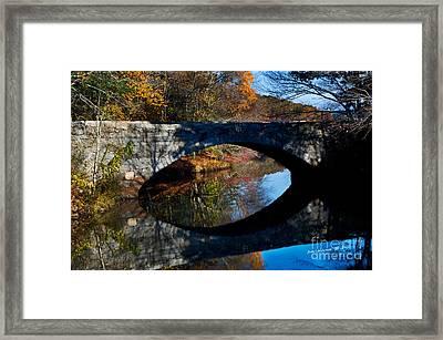 Stone Bridge Framed Print by Jim  Calarese