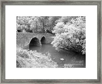 Stone Bridge Manassas Framed Print