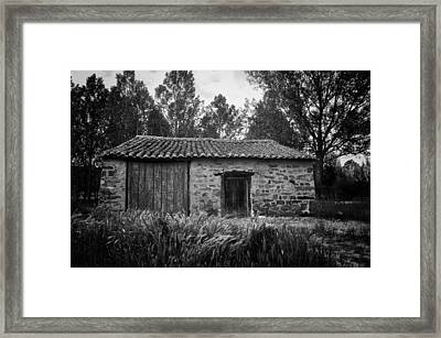 Stone Building Framed Print by Tom Bell