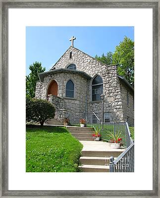 Stone Church Framed Print