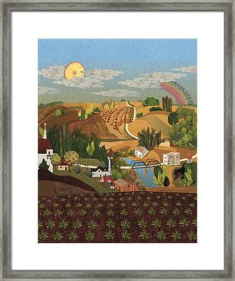 Stone City Ia Framed Print by Julia and David Bowman