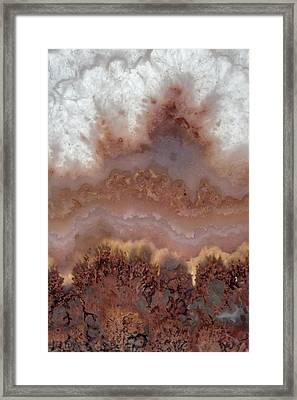 Stone Designs Framed Print by Leland D Howard
