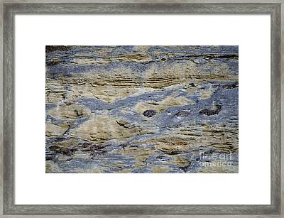 Framed Print featuring the photograph Stone Detail by Felicia Tica