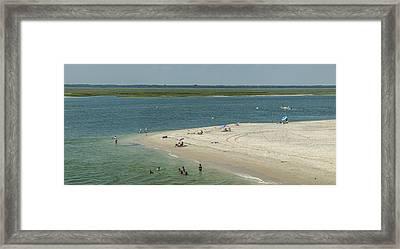 Stone Harbor Point State Park Framed Print