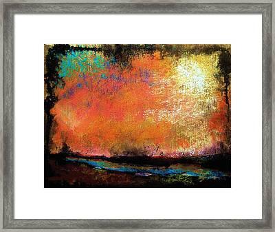 Stone Harbor Sky  Framed Print by Peter R Davidson