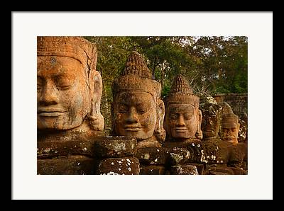 Angkor Thom Framed Prints
