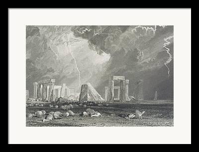 Monolith Drawings Framed Prints