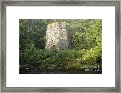 Stone Iron Furnace - Franconia New Hampshire Framed Print by Erin Paul Donovan