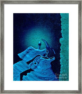 Stone Men 29 C02c - Love Rythm Framed Print by Variance Collections
