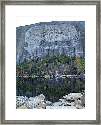 Stone Mountain - 2 Framed Print