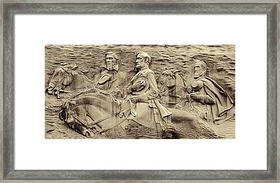 Stone Mountain Georgia Framed Print by Dan Sproul