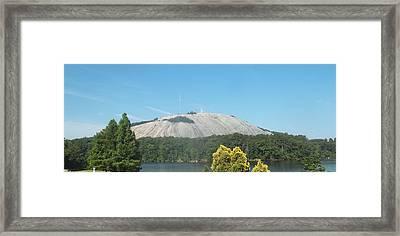 Stone Mountain I Framed Print