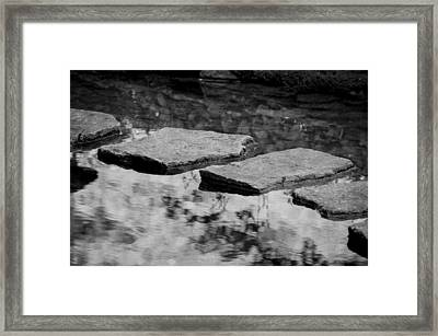 Stone Path I Framed Print by Maria Angelica Maira