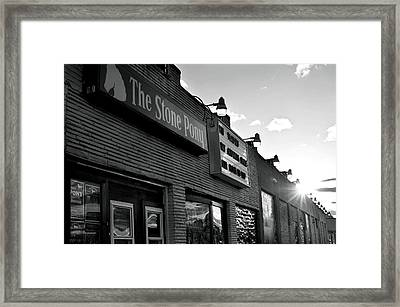 Stone Pony Asbury Park Side View Framed Print by Terry DeLuco
