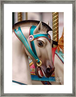Framed Print featuring the photograph Stone Pony by Sami Martin