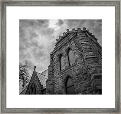 Stone Sky Framed Print