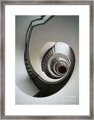 Stone Staircase Framed Print