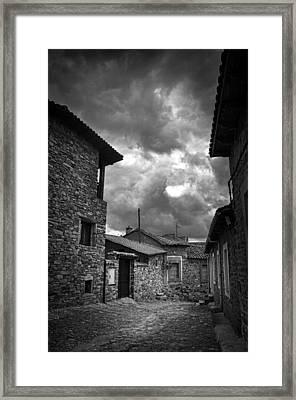 Stone Street Framed Print by Tom Bell