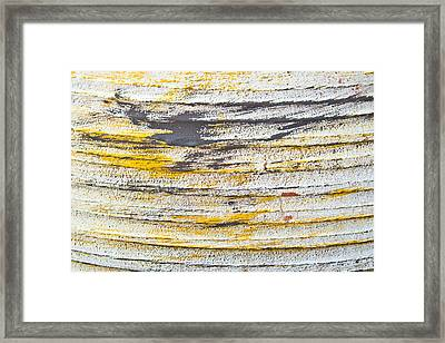 Stone Surface Framed Print