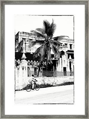 Framed Print featuring the photograph Tanzania Stone Town Unguja Historic Architecture - Africa Snap Shots Photo Art by Amyn Nasser