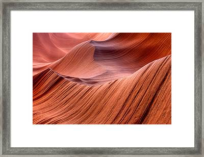 Stone Waves Framed Print by Kiril Kirkov