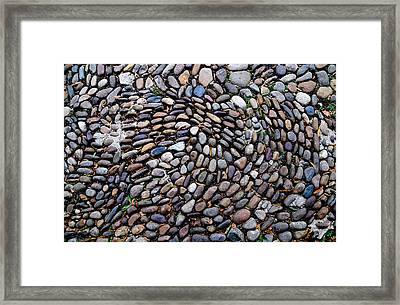 Stone Work Framed Print by William Huchton