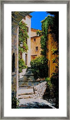 Stone Works Framed Print by Michael Swanson