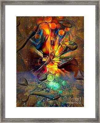 Stone World By Nico Bielow Framed Print