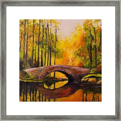 Stonebridge Framed Print by Scott Hoke