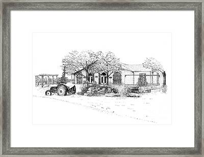 Stonechurch Winery Framed Print
